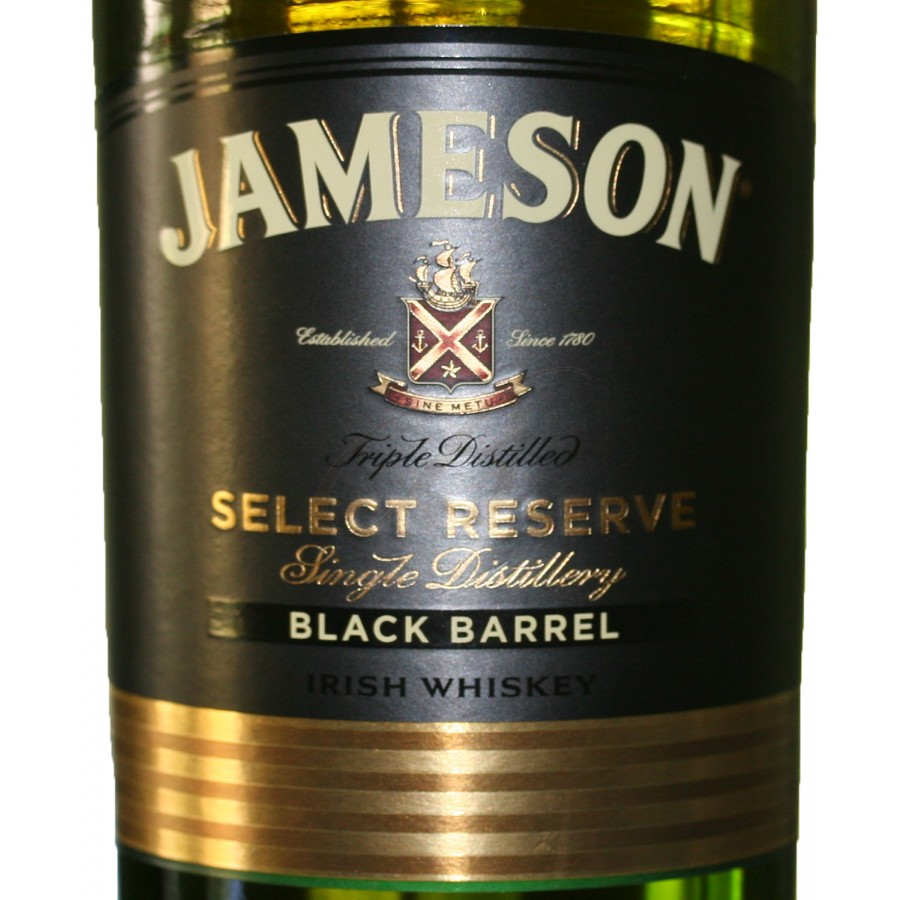 irish whiskey jameson black barrel boursot. Black Bedroom Furniture Sets. Home Design Ideas
