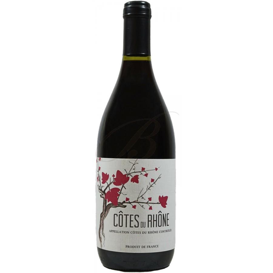 C tes du rh ne baron daniel de martinay 2014 boursot - Conservation du vin rouge ...