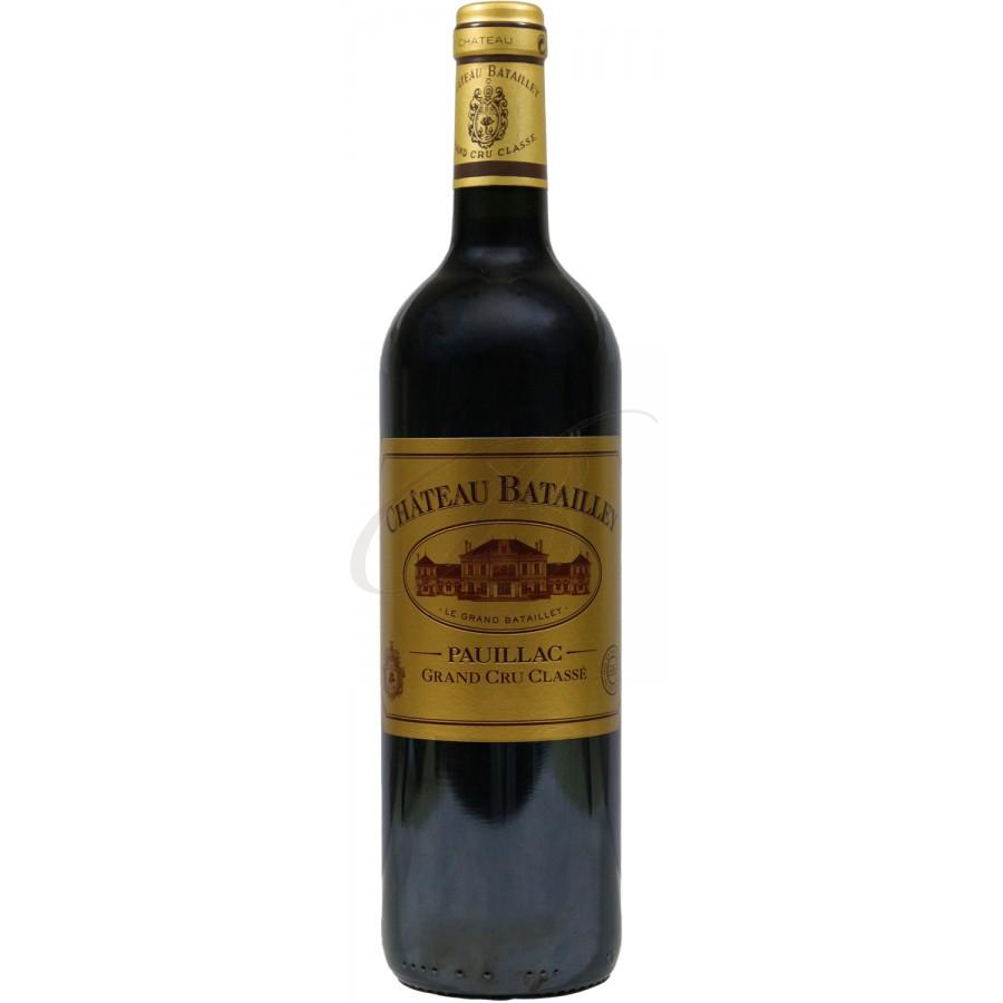 Chateau batailley 5 me cru pauillac 2010 boursot - Conservation du vin rouge ...