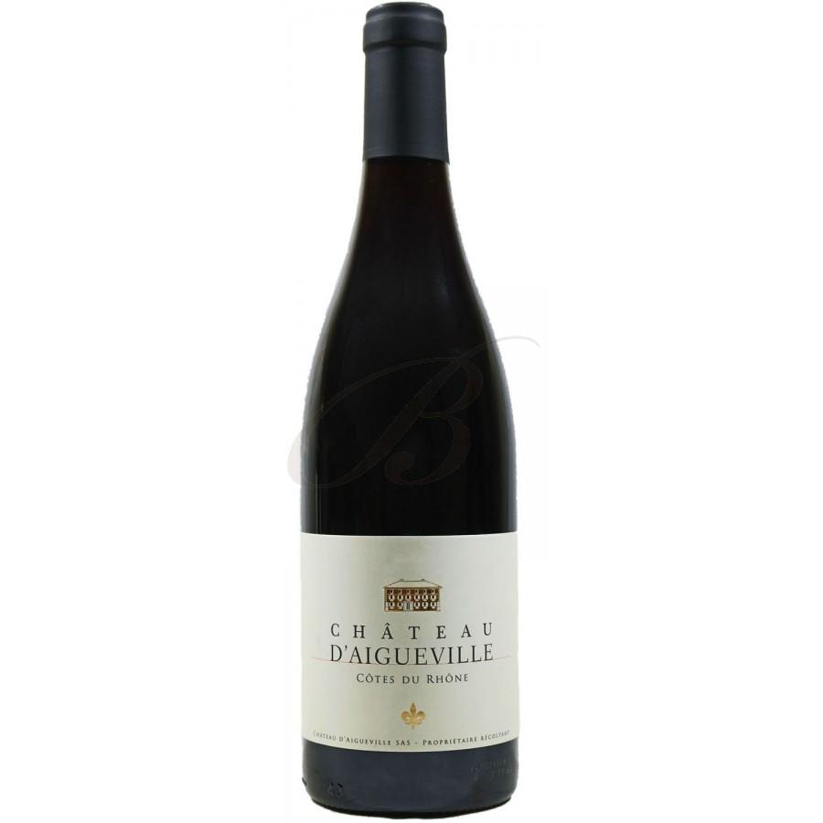 C tes du rh ne domaine d aigueville 2015 boursot - Conservation du vin rouge ...