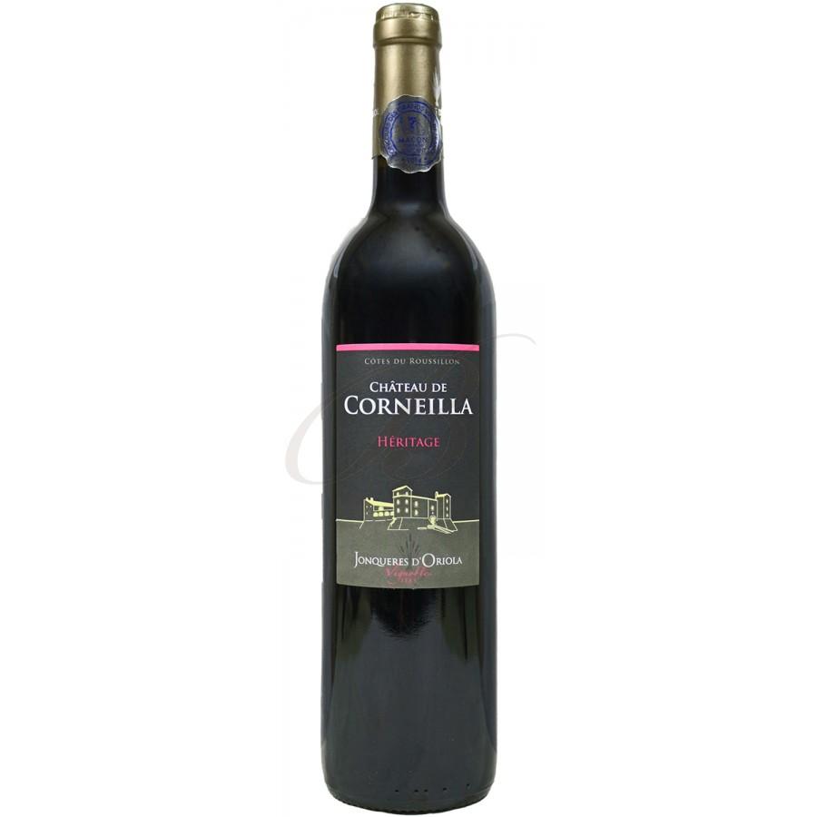 Chateau de corneilla cotes du roussillon 2013 boursot - Conservation du vin rouge ...