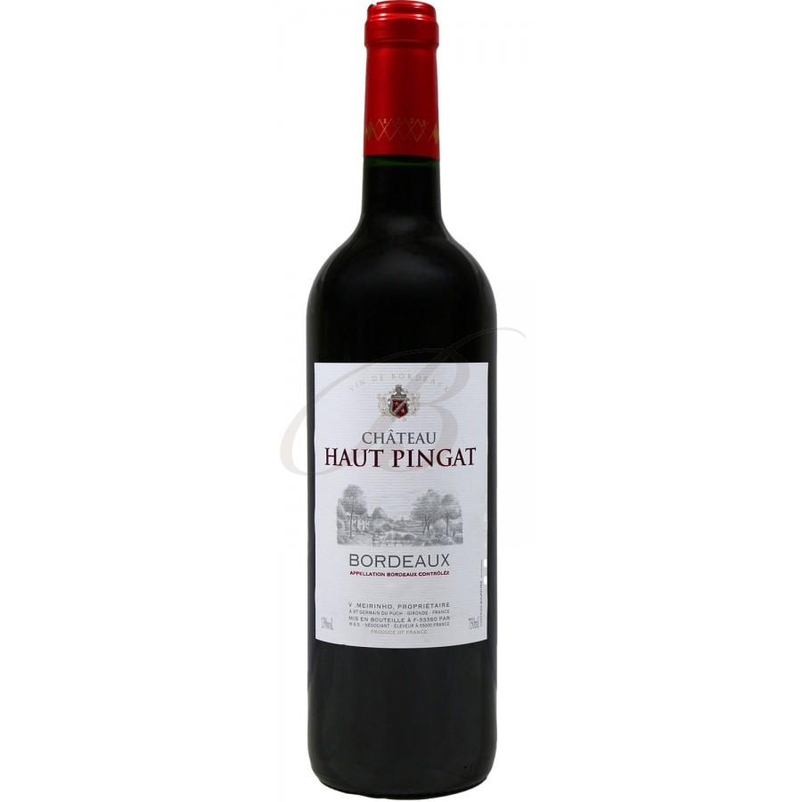 Chateau haut pingat vin rouge bordeaux 2014 boursot - Conservation vin rouge ...