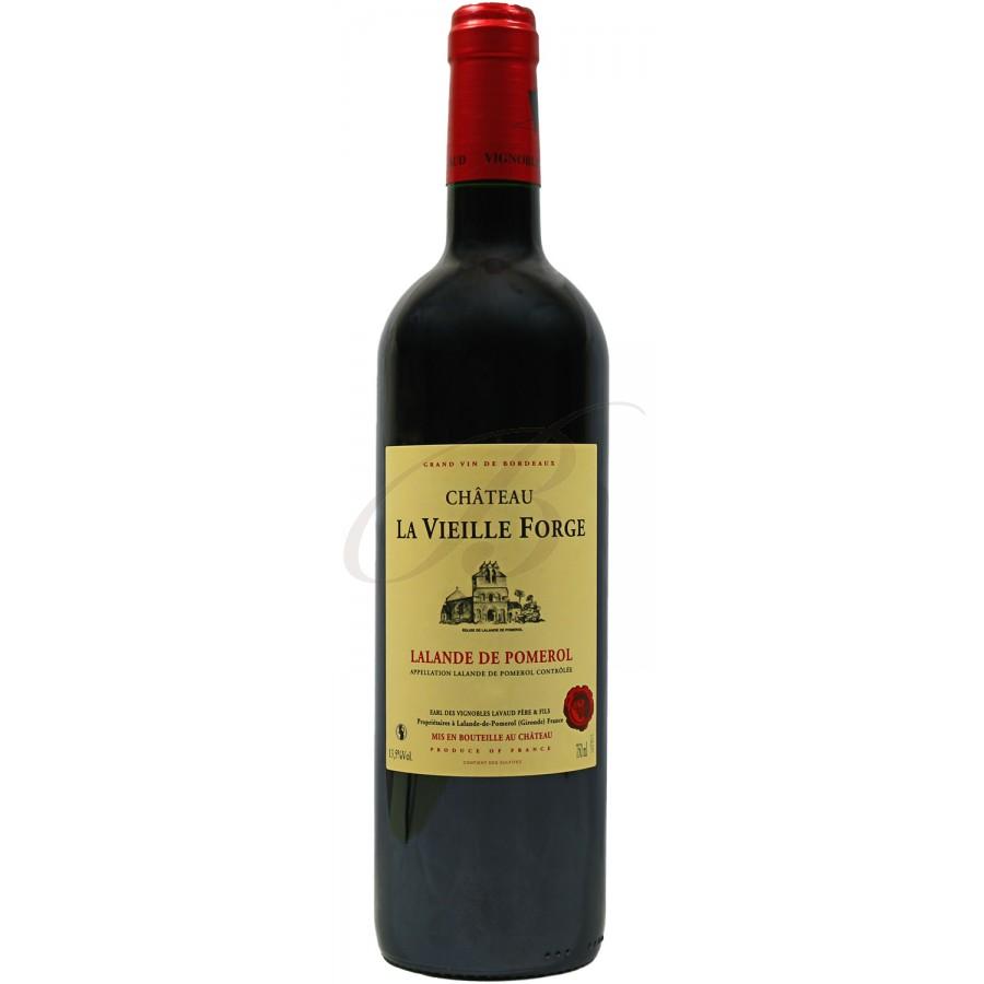 Chateau la vieille forge lalande de pomerol 2012 boursot - Conservation vin rouge ...