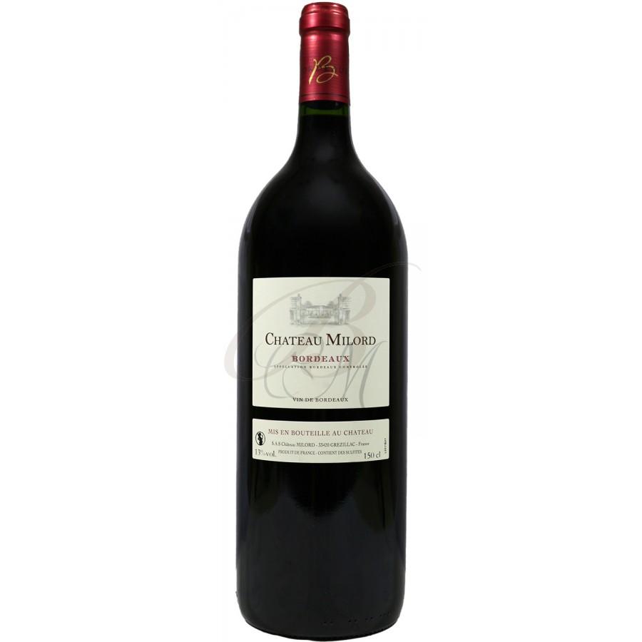 Magnum chateau milord bordeaux rouge 2011 boursot - Conservation vin rouge ...
