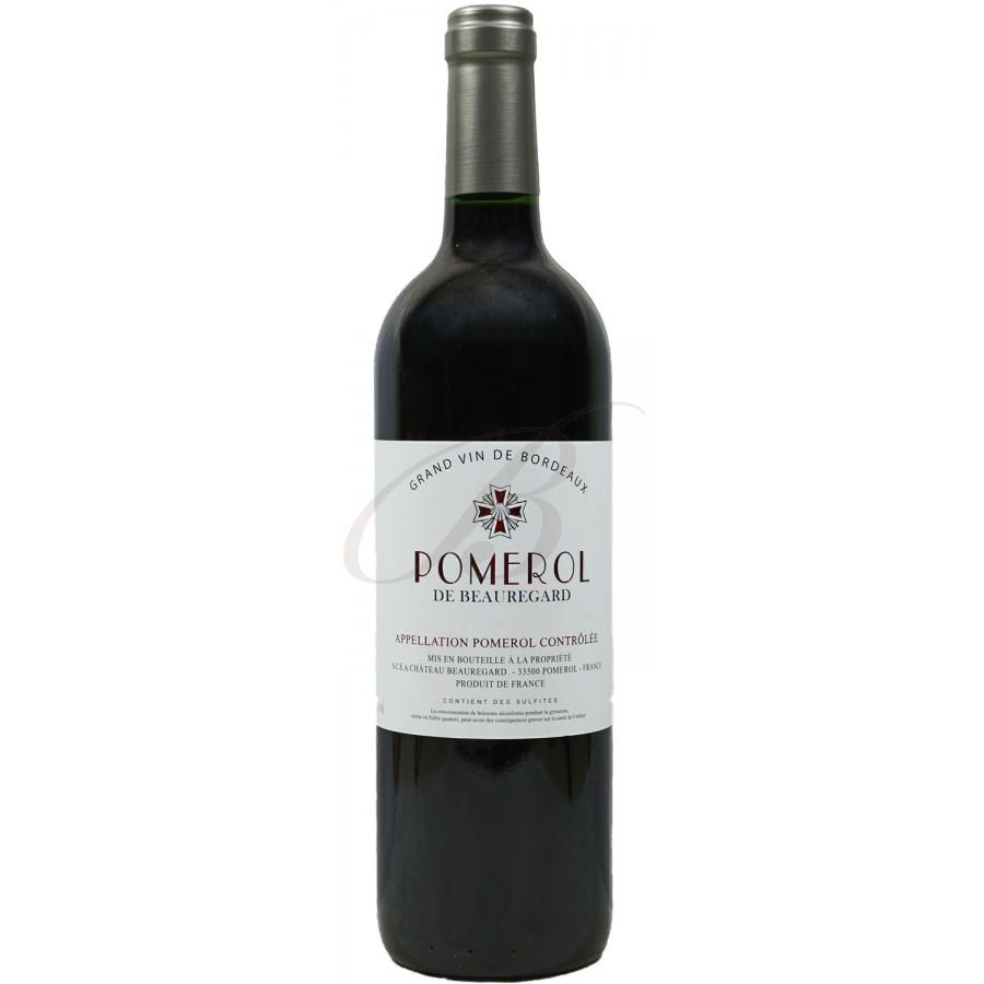 Pomerol de beauregard vin rouge 2011 boursot - Conservation du vin rouge ...