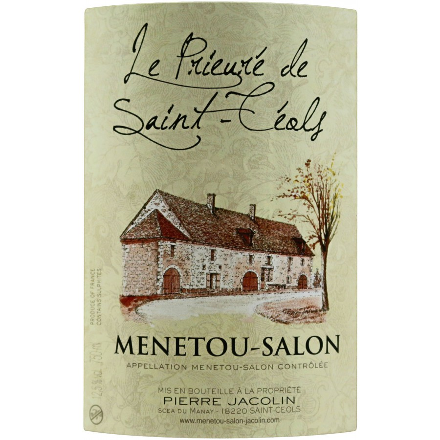 M n tou salon le prieure de saint c ols 2014 boursot en - Vin blanc menetou salon ...