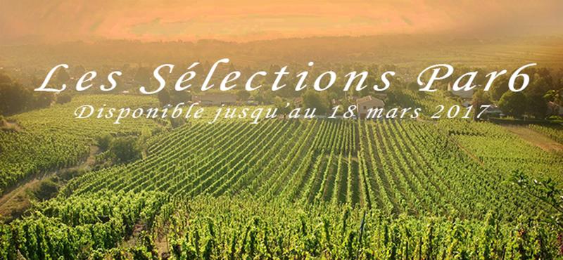 Notre Sélection Par 6 Bouteilles