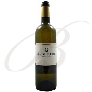 """""""G"""" de Guiraud (Bordeaux), 2014 - vin blanc"""
