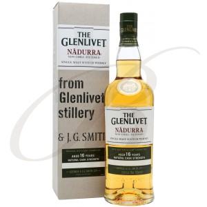 The Glenlivet, Nadurra, Single Malt Scotch Whisky, 16 ans d'âge, 60.2%