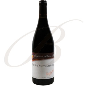 Côte de Nuits-Villages, Domaine Boursot Père & Fils (Bourgogne), 2010 - vin rouge