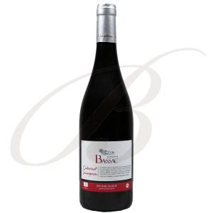 Cabernet Sauvignon, Bio, Domaine Bassac, Côtes de Thongue (Languedoc), 2016 - Vin Rouge