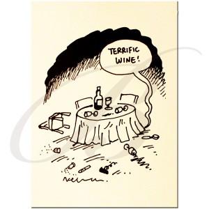 "Cartoon ""Terrific Wine"""