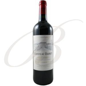 Château Baret, Pessac-Léognan (Bordeaux), 2009 - vin rouge