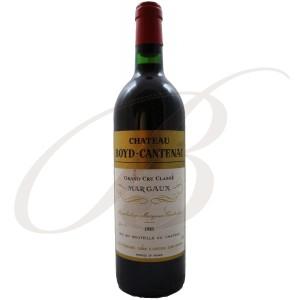 Château Boyd-Cantenac, 3ème cru Margaux (Bordeaux), 1983  - vin rouge