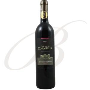 """Le Carton de 12 Bouteilles de Château de Corneilla,""""Héritage"""", Côtes du Roussillon, 2011 - vin rouge"""