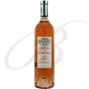 Château de Pourcieux, Côtes de Provence, 2014 - vin rosé