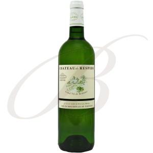 Château Respide, Graves Blanc (Bordeaux), 2015 - Vin Blanc