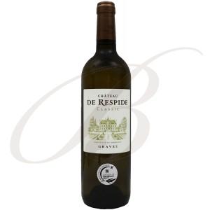Château Respide, Graves Blanc (Bordeaux), 2016 - Vin Blanc