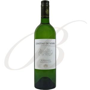Château de Sours, Bordeaux, 2013 - Vin Blanc