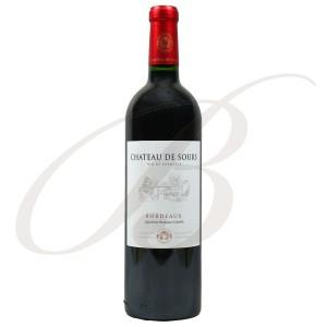 Château de Sours, Bordeaux Rouge, 2011 - vin rouge