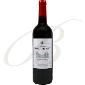 Château Haut-Pingat, Bordeaux, 2015 - Vin Rouge