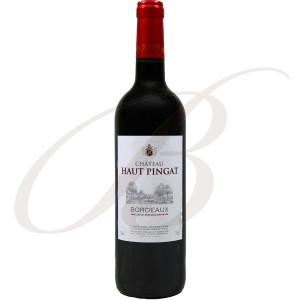 Château Haut-Pingat, Bordeaux, 2016 - Vin Rouge