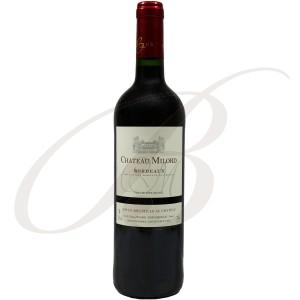 Château Milord, Bordeaux Rouge, 2012 - Vin Rouge