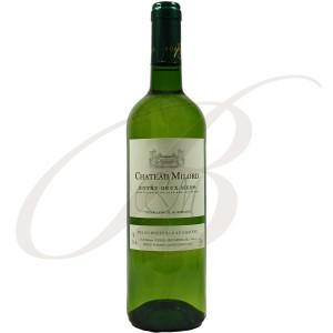 Château Milord, Entre-Deux-Mers (Bordeaux), 2016 - Vin Blanc