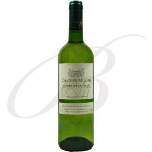 Château Milord, Entre-Deux-Mers (Bordeaux), 2018 - Vin Blanc