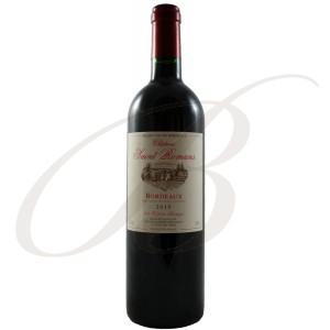 Château Saint-Romans, Bordeaux, 2010 - vin rouge