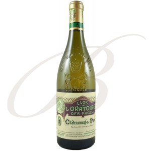 Clos de l'Oratoire Blanc, Châteauneuf du Pape (Rhône), 2011 - vin blanc
