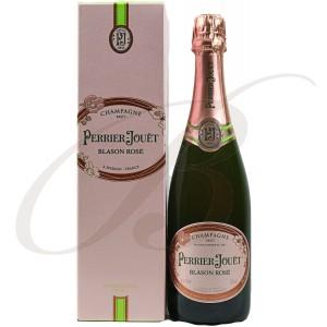 Coffret Champagne Perrier-Jouët, Blason Rosé, Brut