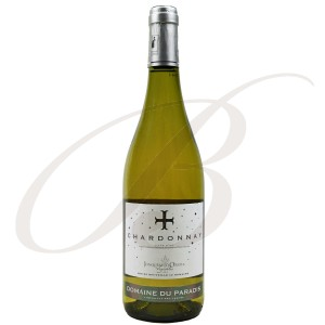 Chardonnay, Domaine du Paradis (Côtes Catalanes), 2016 - Vin Blanc