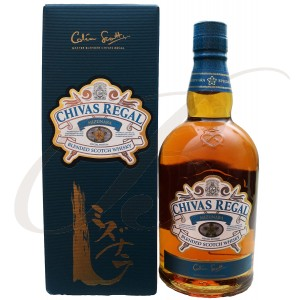 Chivas Regal, Mizunara, Blended Scotch Whisky, 40%