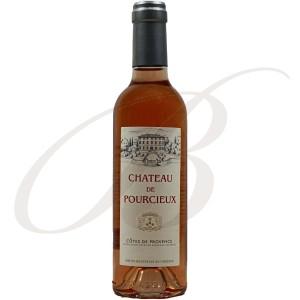 Château de Pourcieux, Côtes de Provence, 2014   Demi-bouteille:  37,5cl - Vin Rosé