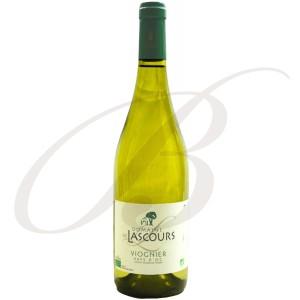 Viognier, Biologique,  Domaine de Lascours, Vin de Pays d'Oc (Languedoc), 2017 - Vin Blanc