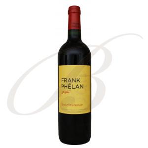 Frank Phélan, 2ème vin de Château Phélan-Ségur, Cru Bourgeois Exceptionnel Saint Estèphe (Bordeaux), 2014 - Vin Rouge