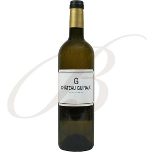 """G"" de Guiraud, Bio (Bordeaux), 2015 - Vin Blanc"
