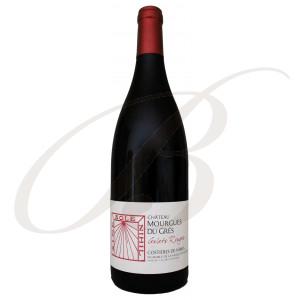 Galets Rouges, Château Mourgues du Grès (Costières de Nîmes), 2018  BIO - Vin Rouge