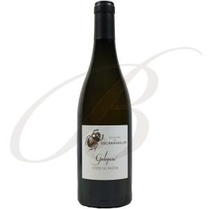 Rasteau Blanc, La Galopine, Domaine des Escaravailles (Rhône), 2015 - Vin Blanc