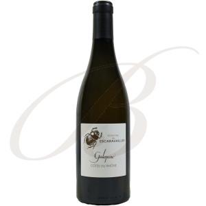Rasteau Blanc, La Galopine, Domaine des Escaravailles (Rhône), 2018 - Vin Blanc