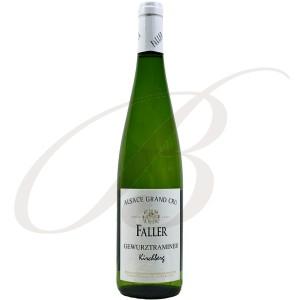Gewürztraminer Kirchberg, Grand Cru, Robert Faller et Fils (Alsace), 2012 - Vin Blanc