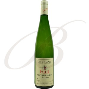 Gewürztraminer, Tradition, Robert Faller et Fils (Alsace), 2014 - Vin Blanc