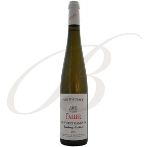 Gewürztraminer, Vendanges Tardives, Robert Faller & Fils  (Alsace), 2007:   50cl - vin blanc