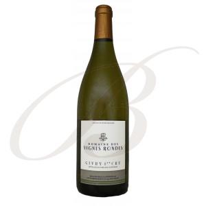 Givry Blanc, Premier Cru, Domaine des Vignes Rondes (Bourgogne), 2017 - Vin Blanc