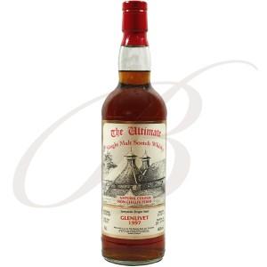 Glenlivet, Speyside, The Ultimate, Single Malt Scotch Whisky, 1997, 46% vol.