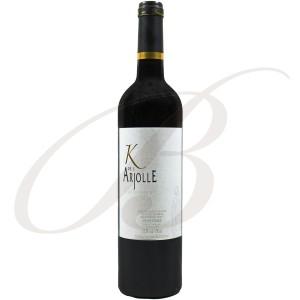 Carmenère, K de l'Arjolle, Domaine de l'Arjolle, Côtes de Thongue, 2013 - Vin Rouge