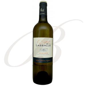 L'Esprit de Lassalle, Blanc, Graves (Bordeaux),  2018 - Vin Blanc