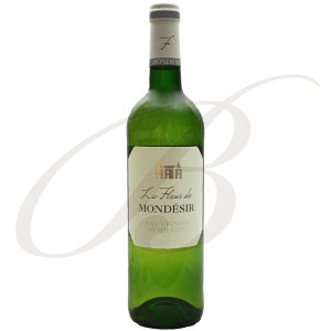 La Fleur de Mondésir, Bergerac Sec, 2018 - Vin Blanc