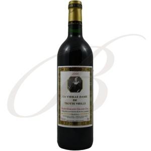 La Vieille Dame de Trottevieille, Grand Cru Saint-Emilion (Bordeaux), 2000 - vin rouge